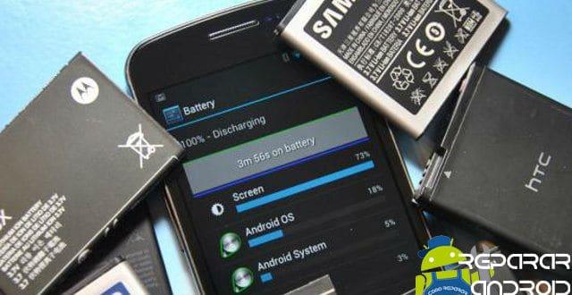 Como saber si la batería de su móvil está mal