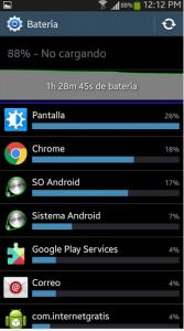 ver estado de bateria