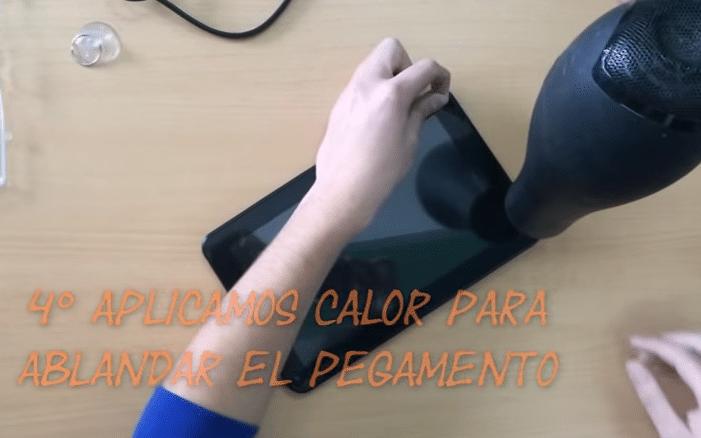 Como reparar pantalla tablet android azus