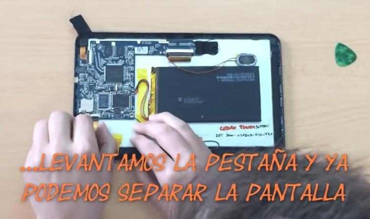 Como reparar pantalla tablet android samsung