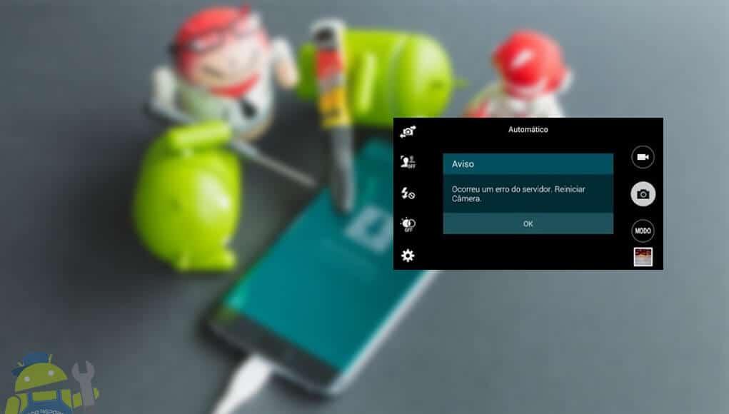 areglar reparar error del servidor reinicie la camara de android