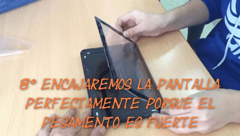 celular android reparar pantalla tablet android