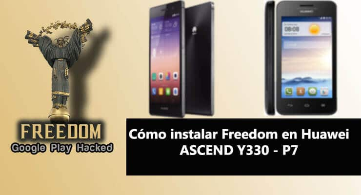 como instalar freedom apk en huawei ascend y 300 p7