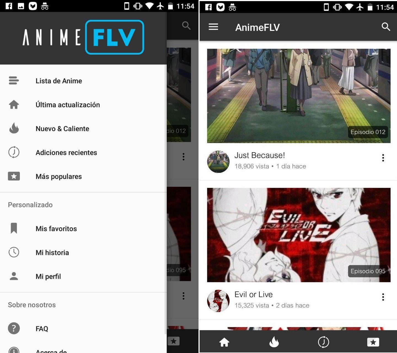 descargar animeflv apk android app 2018 pro