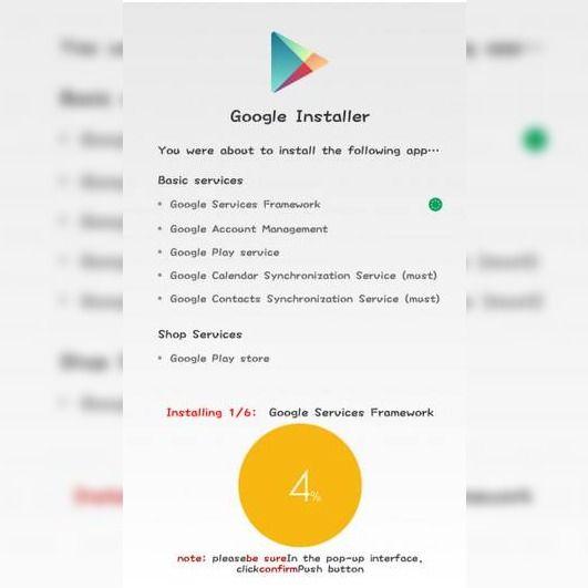 descargar google installer app