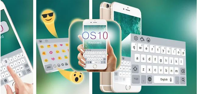 descargar keyboard iphone ios para android emojis apk app