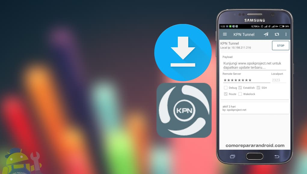 descargar kpn tunnel apk 2017 gratis la version mas estable