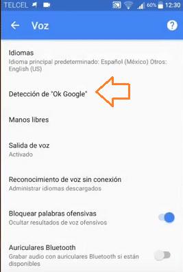 deteccion de ok google reparar camara en android error