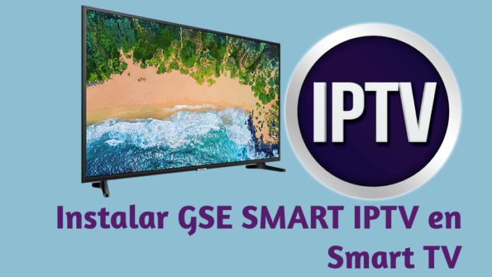 gse smart iptv para smart tv