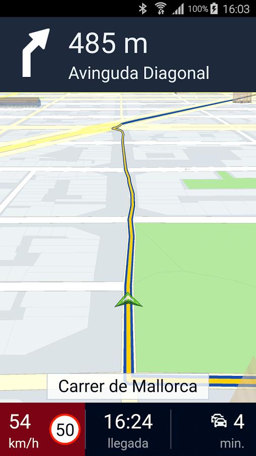 here maps reparar gps motorola