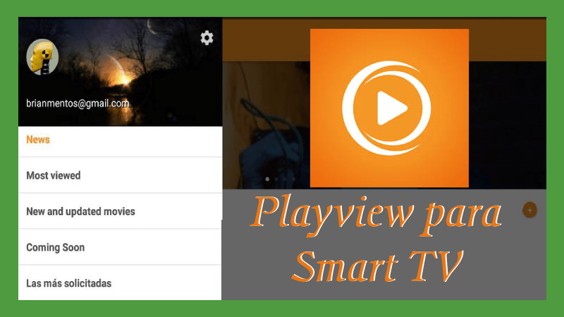 como instalar playview en smart tv samsung sony lg