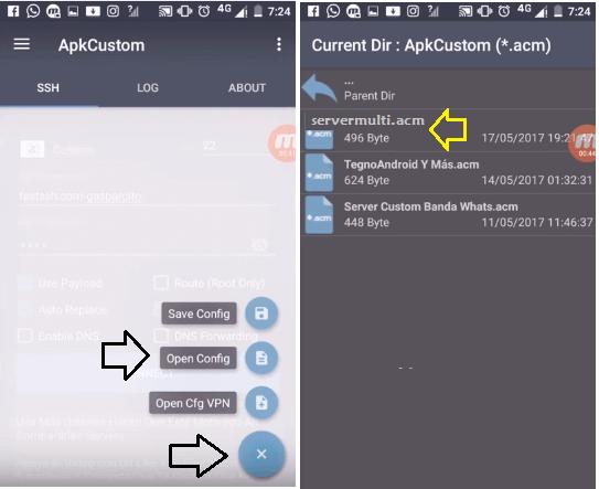 internet gratis con apk custom android telcel