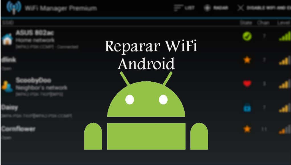 me puedo conectar al wifi pero no tengo internet en android
