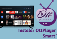 como instalar ottplayer para smart tv
