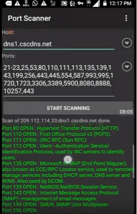 port scanner como sacar host gratis funcionales