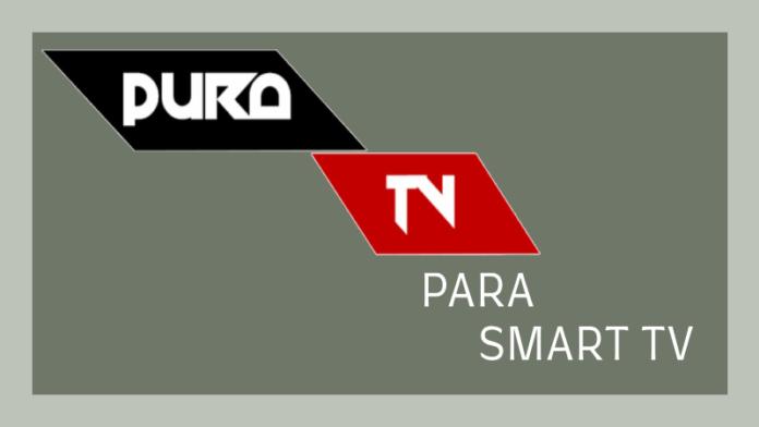 como descargar pura tv para smart tv samsung lg sony panasonic