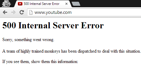 reparar error youtube error 500 android