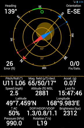 reparar gps android GPS-Status-Toolbox
