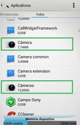 como reparar error de camara software