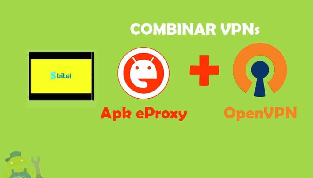 se puede combinar eproxy con openvpn android