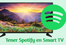 como instalar spotify para smart tv descargar