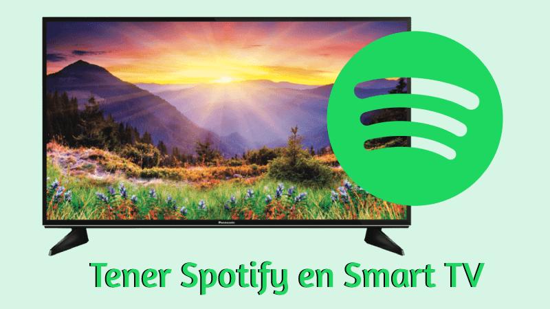 como instalar spotify para smart tv descargar