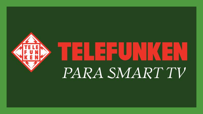 Telefunken Smart Tv Apps
